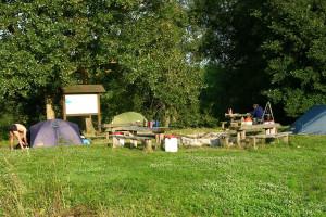 Lager an der Donau